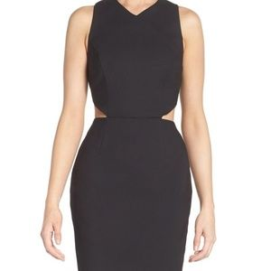 NWT French connection cut out dress